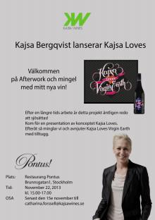Kajsa Bergqvist lanserar sitt nya koncept Kajsa Loves