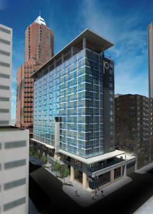 Skanska bygger hotell i Portland, USA, för cirka 470 miljoner kronor