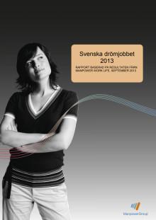 Svenska drömjobbet 2013