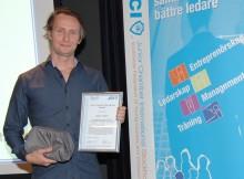 Jesper Lejfjord utsedd till Sveriges framtida ledare