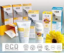 Naturliga och ekologiska solskyddskrämer från Eco Cosmetics