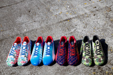 PUMA COLLABORATE WITH BAPE, COLETTE, ALIFE AND KITH ON A LIMITED EDITION PUMA EVOSPEED FOOTBALL BOOT