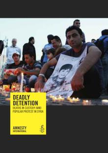 Syrien dödsfall i häkte
