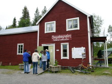 Roland Hedlund inviger den 19:e  filmfestivalen i Adak