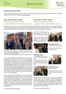 Forest Refine Newsletter No 14