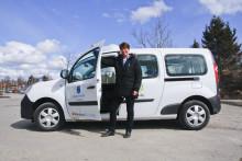 Kommunens första el-bil på plats i Väsby