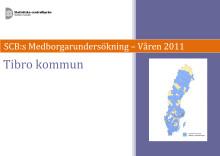 SCB:s medborgarundersökning i Tibro 2011