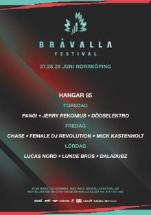 Intervjua JoiaAgencys artister under Bråvalla festival