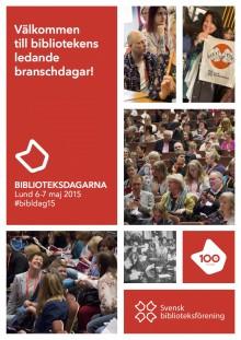 Kulturministern gästar Biblioteksdagarna 2015