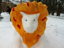 Barnens Snöskulpturfestival 2015