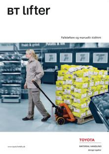 Brochure: Palleløftere og manuelle stablere