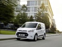 Ford Transit Connectiin luokkansa johtavaa polttoainetehokkuutta sekä uusia teknologioita ensimmäisenä segmentissään