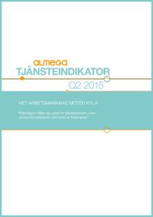 Almegas tjänsteindikator Q2 2015 - kortversion