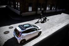 Mindre metall öppnar upp för Toyota Aygo x-wave