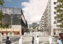 Skanska bygger stormarknad samt sporthall i Flemingsbergsdalen för 330 miljoner kronor
