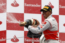 HAMILTON TAKES HIS SECOND WIN OF THE YEAR AT THE NÜRBURGRING