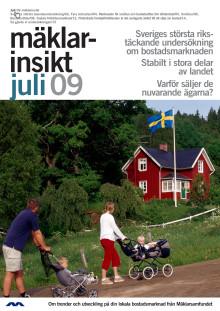 Mäklarinsikt: Fastighetsmäklare bedömer: stabilt i stora delar av landet - svagare utveckling i Stockholm