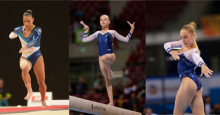 Tre gymnaster till World Challenge Cup i Anadia