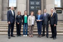 Amelia Andersdotter besöker telekommyndigheternas samarbetsorgan BEREC i Riga