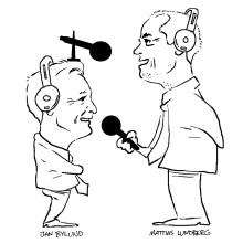 Jan Bylund & Mattias Lundberg startar en Podcast. #psykologi #jäklamänniska