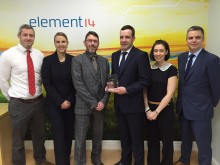 Farnell element14 achieves Phoenix Contact award for exceptional sales growth in 2014