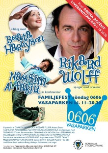 Grönt nationaldagsfirande med Rikard Wolff och Nassim al-Fakir