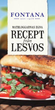 Matbloggarnas egna recept från Lesvos