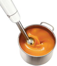 Korta klorparaffiner används inte vid tillverkning av Philips stavmixrar eller andra Philips köksprodukter