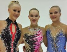 Josefine Olsson svensk mästarinna i rytmisk gymnastik