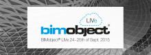 BIMobject® LIVe i Milano – följ oss online och på plats