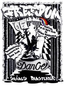 FREEDOM OF DANCE - Festival på Skånes Dansteater