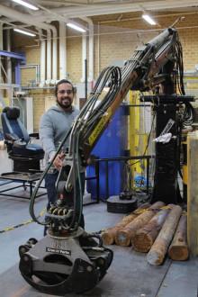 Skogsmaskiner som gradvis blir smartare
