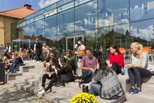 Högskolans internationella ansökningar ökar näst mest i landet