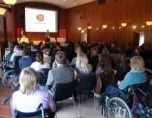 Välbesökt seminarium om personlig assistans i framtiden