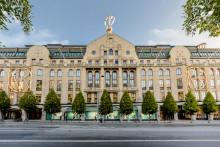 Nordiska Kompaniet firar 100 år på Hamngatan i Stockholm
