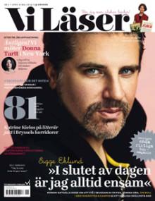 """Vi Läser nr 2 2014 - Sigge Eklund: """"I slutet av dagen är jag alltid ensam"""""""