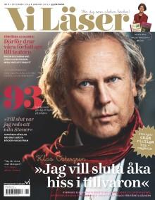 """Vi Läser nr 6 2014: Ett år med Klas Östergren: """"Mitt liv blir aldrig mer sig likt"""""""