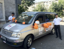 QNET donates minivan to Kyrgyz Children's Home