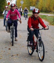"""Pressinbjudan: Hagaskolan vinner pris för insats i utmaningen """"Gå och cykla till skolan"""""""