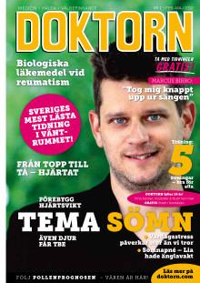 Succésiffror för Tidningen DOKTORN, Sveriges största väntrumstidning i vården, och DOKTORN.com!