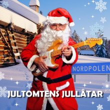 Äntligen har Jultomten fått skivkontrakt och får släppa sina egna jullåtar!