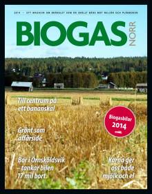 Biogasmagasin från Biogas Norr