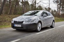 Nya Opel Astra: Hett byte för bilspioner