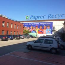 Studiebesök på PAPREC:s anläggning i Paris