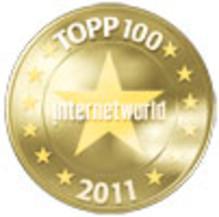 Europeiska på Internetworlds Topp 100-lista