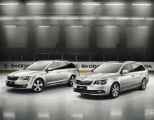Skoda presenterar Tre Kronor-Edition – Tre Kronor OS-truppen