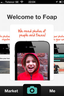 Foap.com turns your iPhone photos into dollars