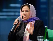 Kvinnors rättigheteter i framtidens Afghanistan fokus på MR-dagarna