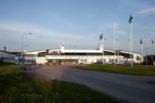 ÖVNING av Flygolycka vid Stockholm Västerås flygplats