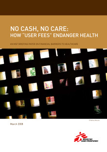No cash - No care